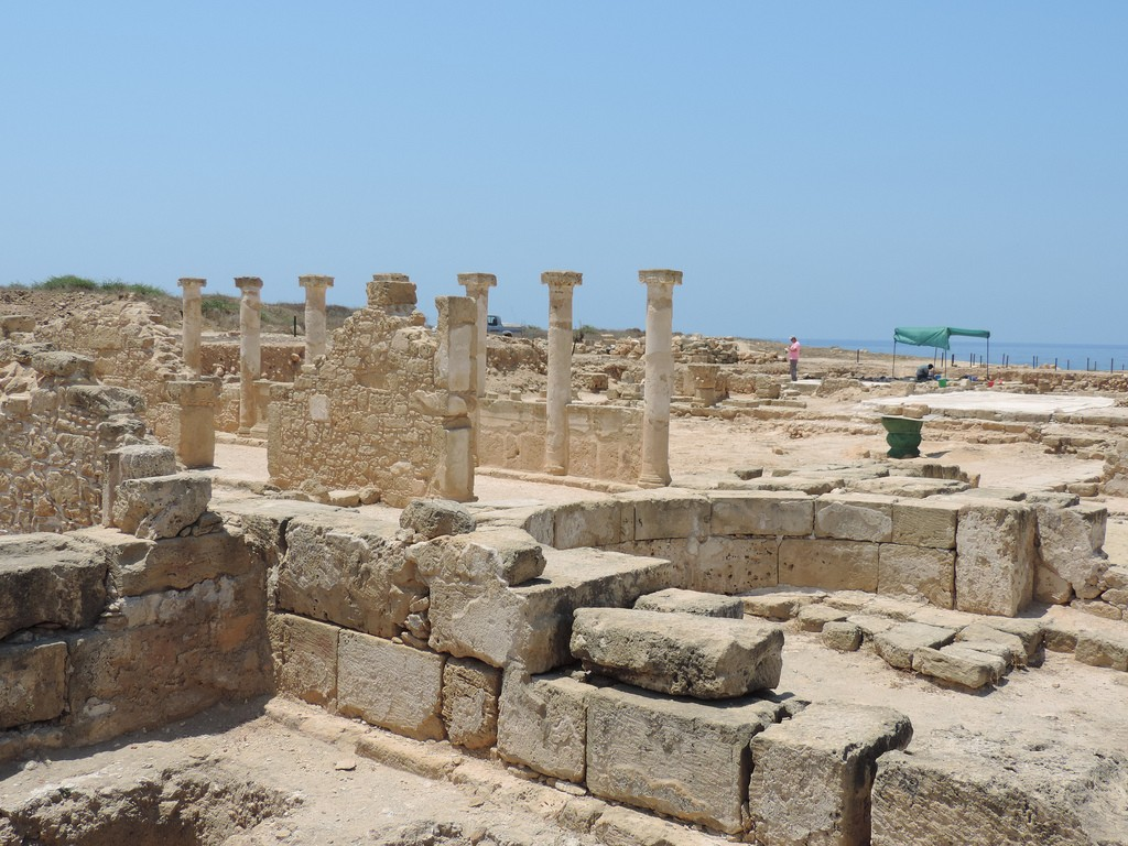 Old Paphos is a large site and must have been a busy and vibrant city in its time │© Steve Parker/Flickr