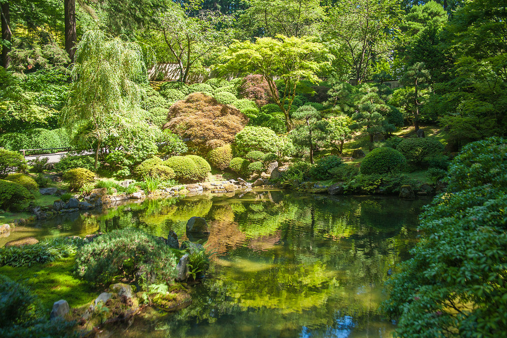 Japanese Garden | © Paul VanDerWerf/Flickr