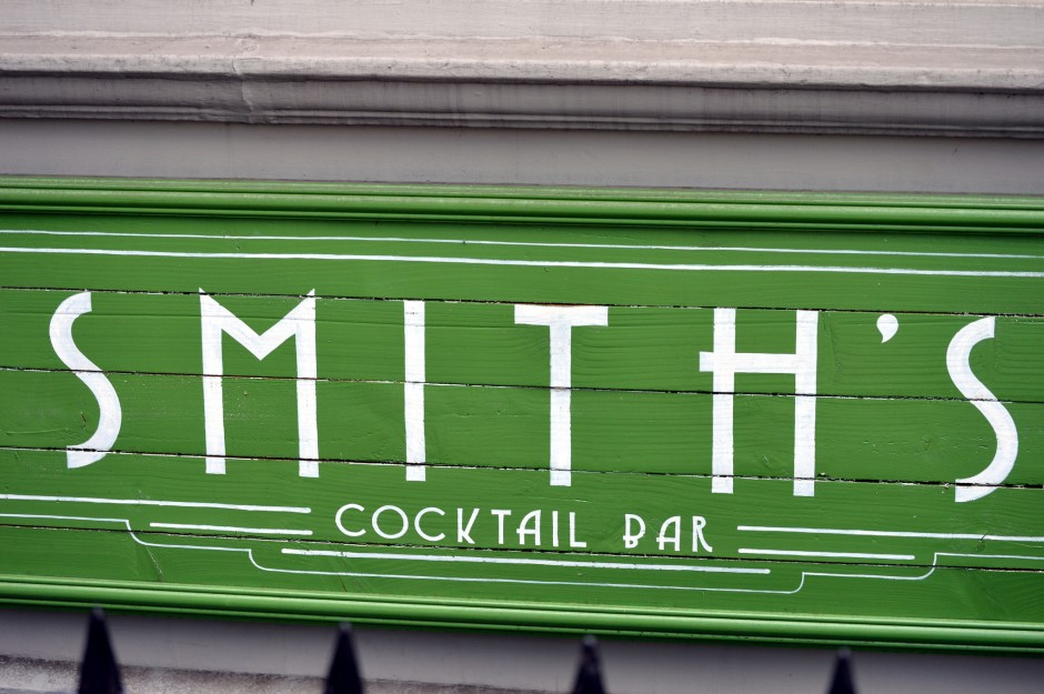 The sign outside Smith's