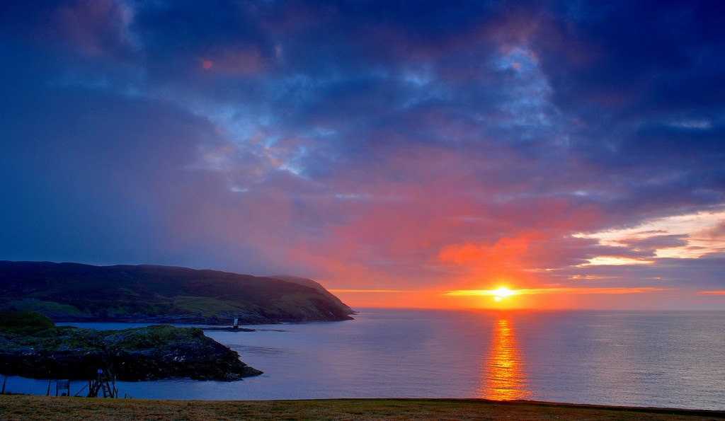 Sunset at The Calf of Man | © Tee Cee/Flick