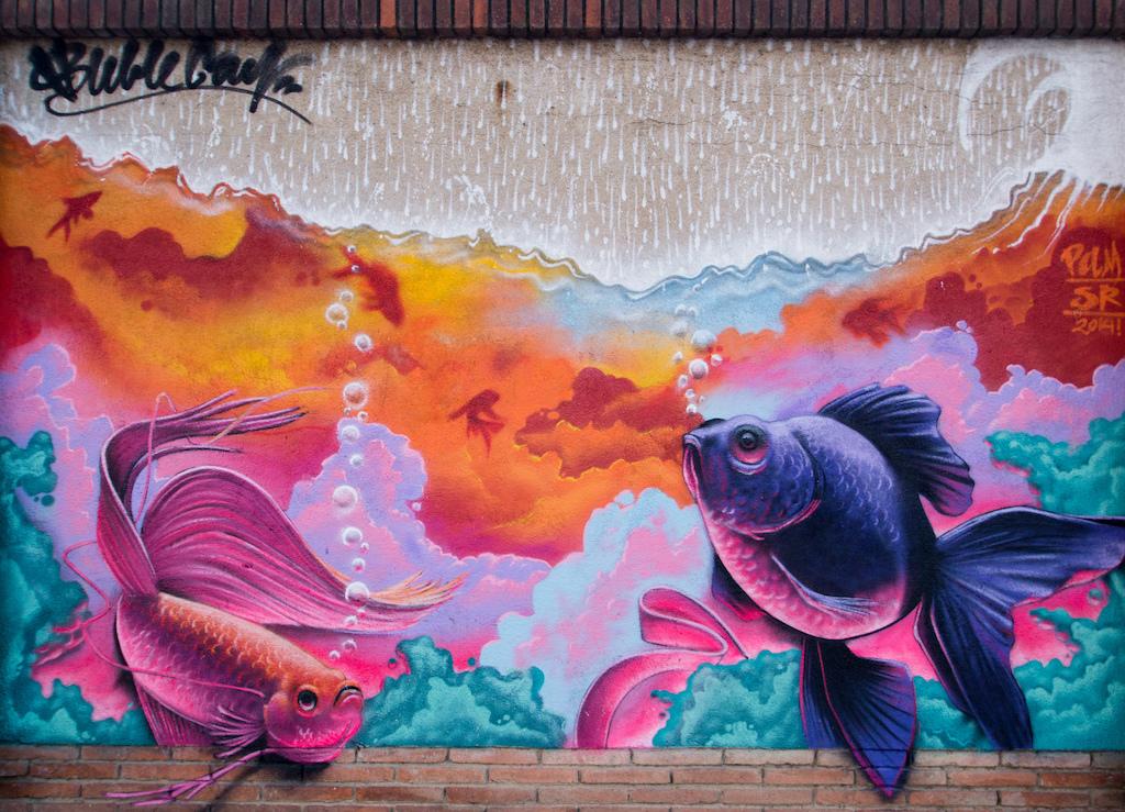 Street art in Poblenou   © Almusaiti