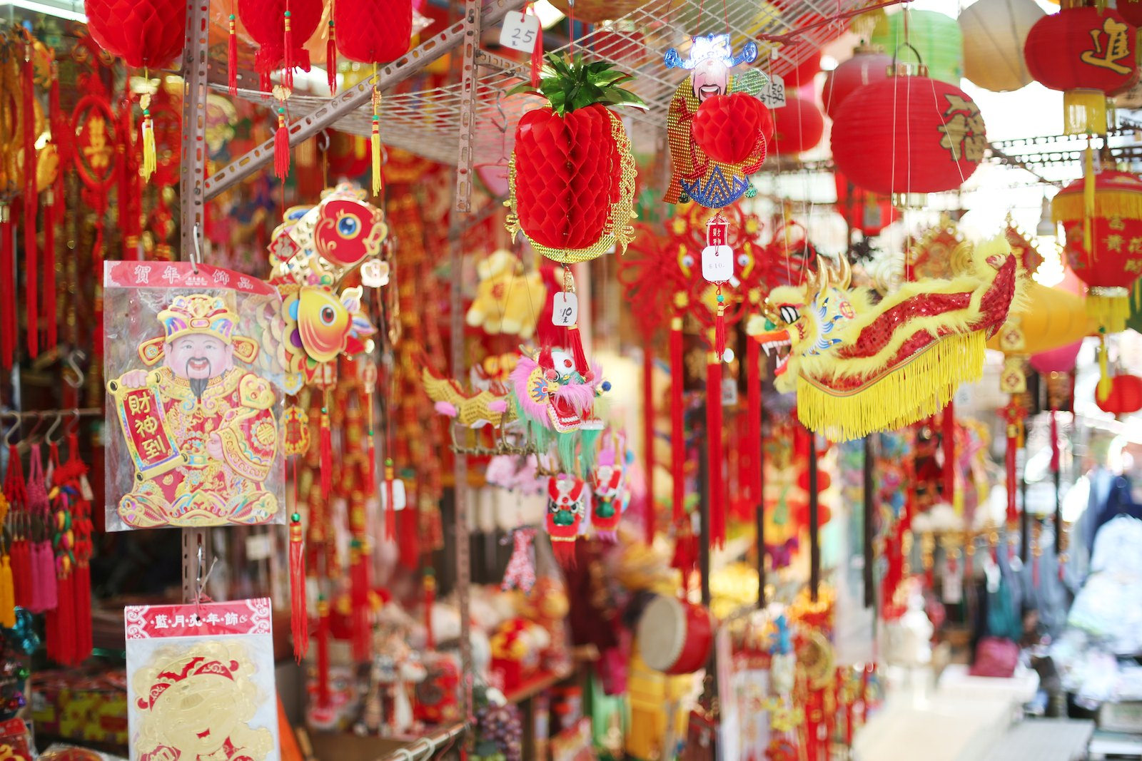 Chinese New Year decorations | © Geneva Vanderzeil/Flickr