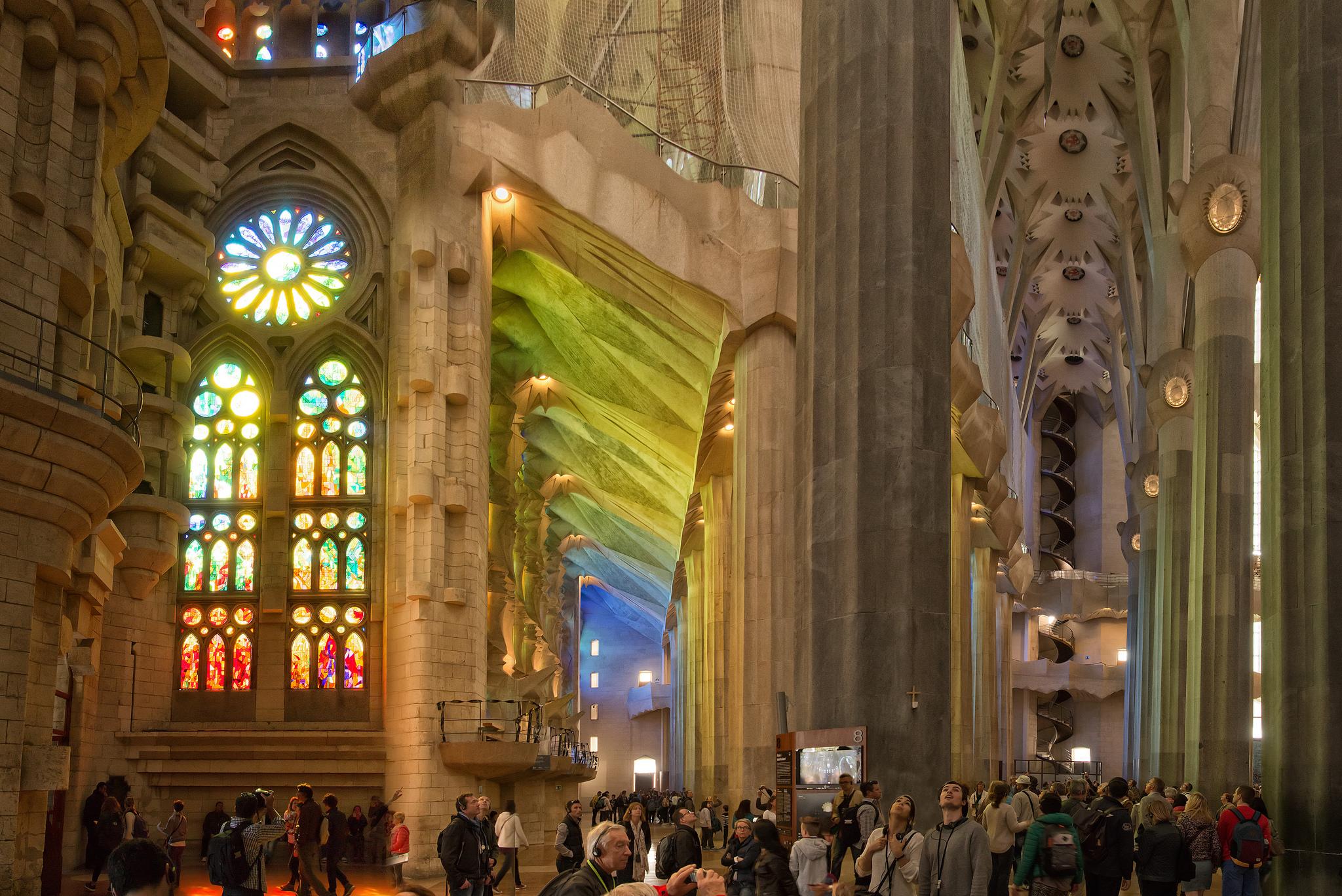 The Sagrada Familia | © haschelsax