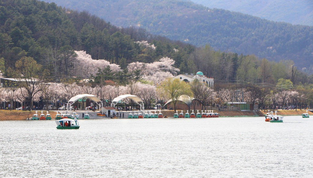Suseong Lake in spring | © Suseong-gu / Flickr