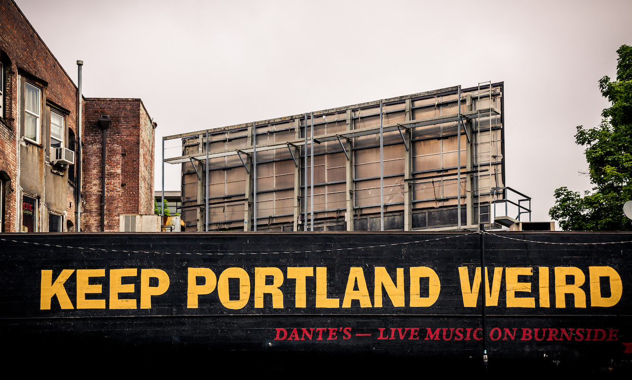 Keep Portland Weird | © Tony Webster/Flickr