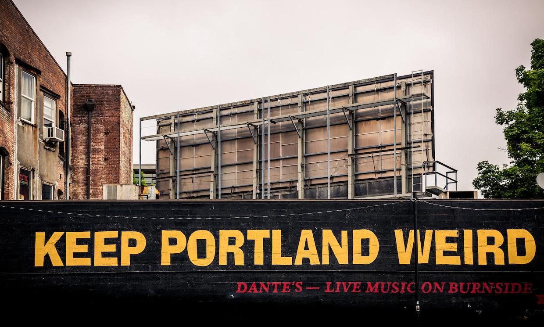 Keep Portland Weird   © Tony Webster/Flickr