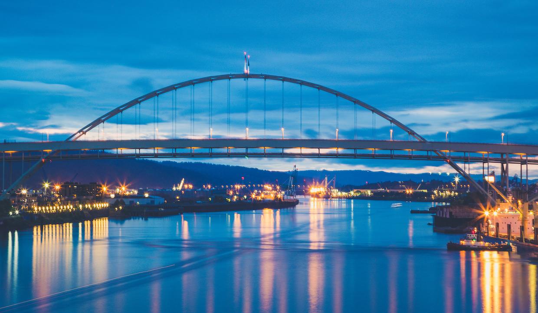 Fremont Bridge Sunset, Portland   © Tony Webster/Flickr