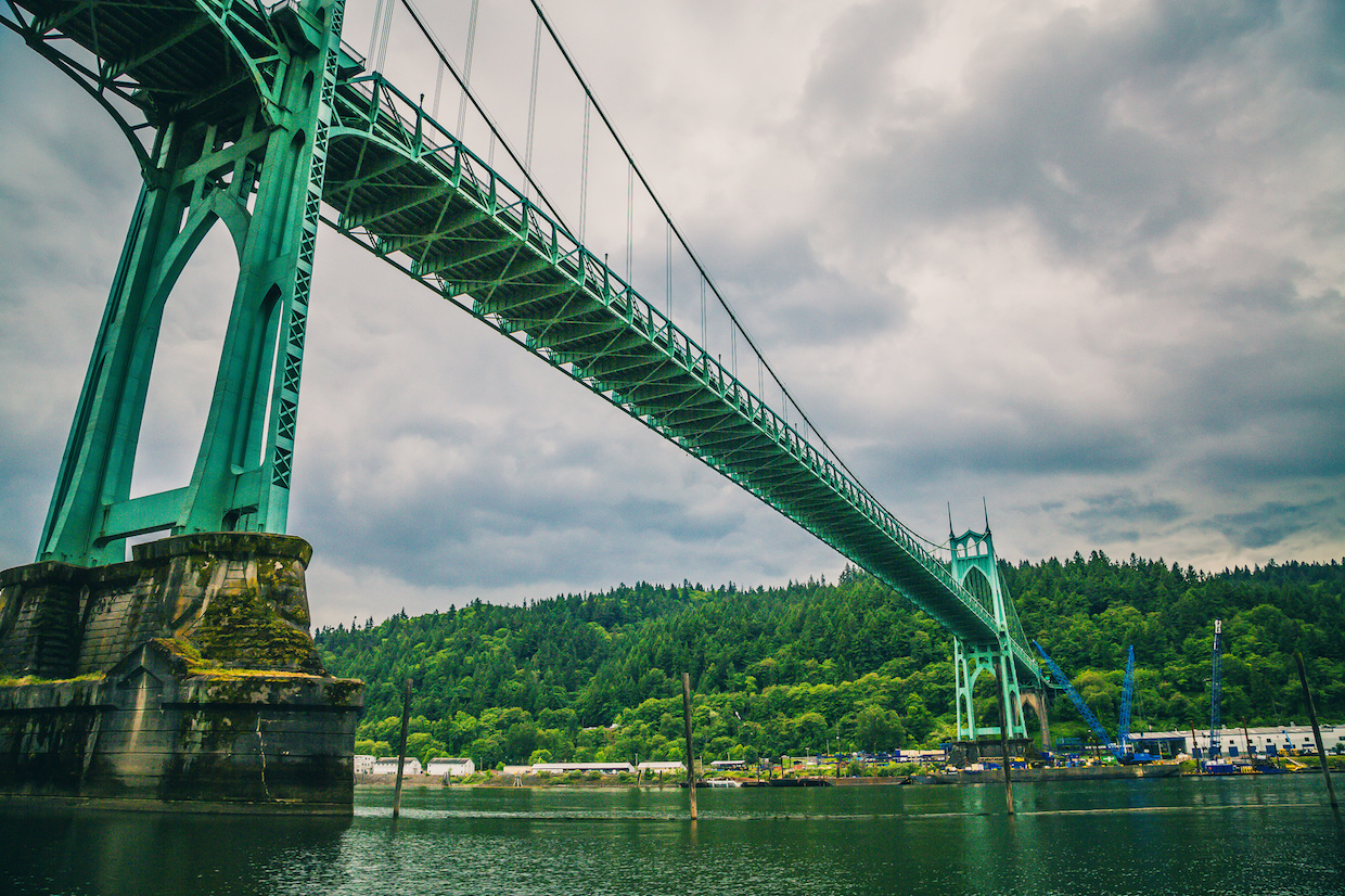 St. Johns Bridge, Portland | © Tony Webster/Flickr