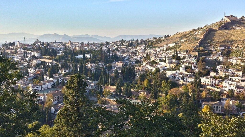 Albaicin, Granada; Encarni Novillo