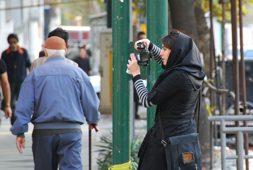 Street photographer in Tehran   © Paul Keller / Flickr
