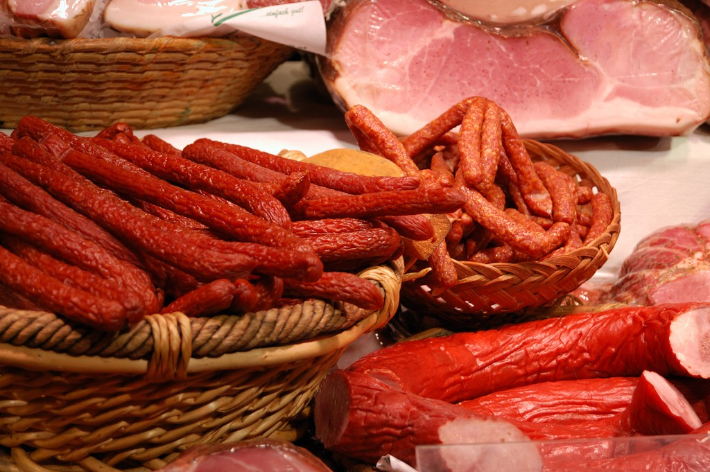 Various Austrian meats and sausages   © Cha già José / Flickr