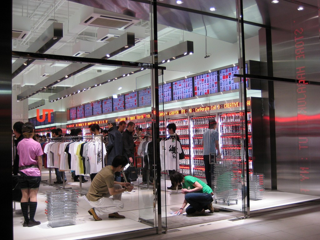 Uniqlo Harajuku | © Melanie M./Flickr