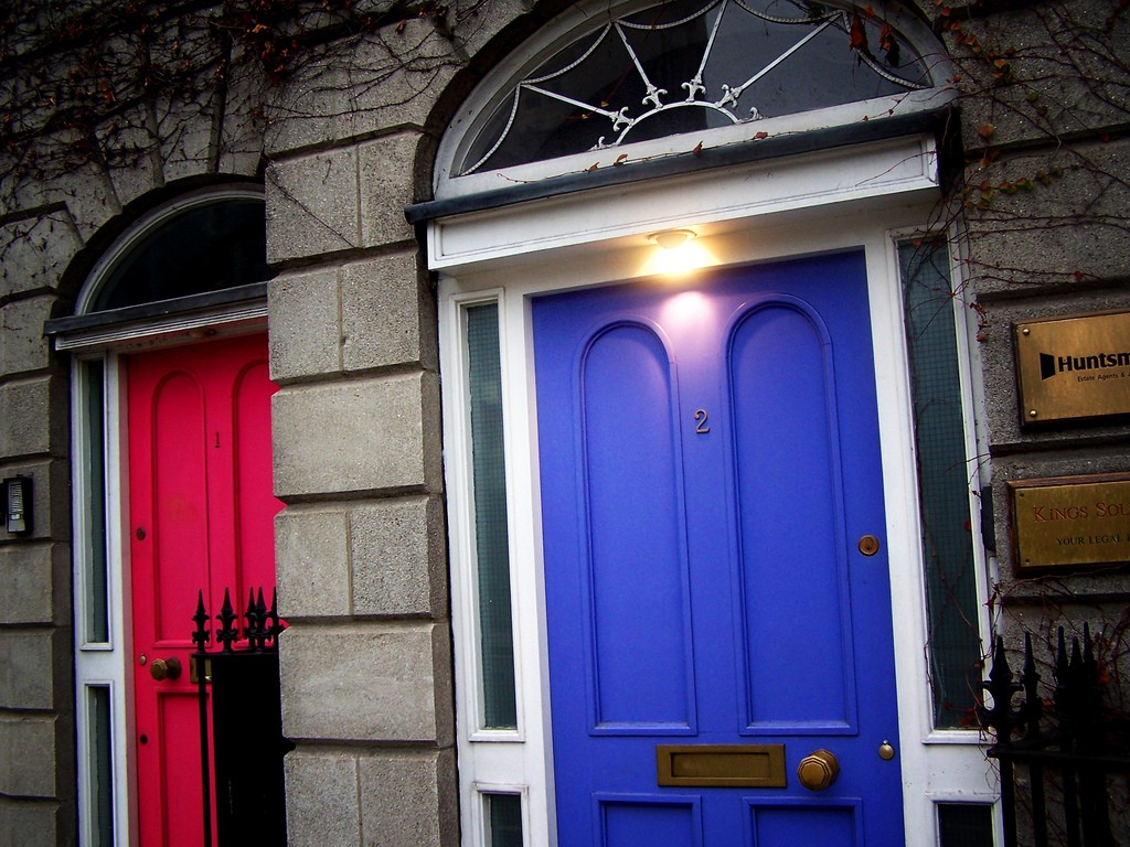 Dublin doors | © Jose Jiménez López/Flickr
