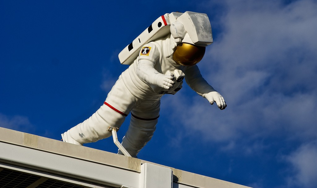 Astronaut at Kennedy Space Center | © Paul Hudson / Flickr