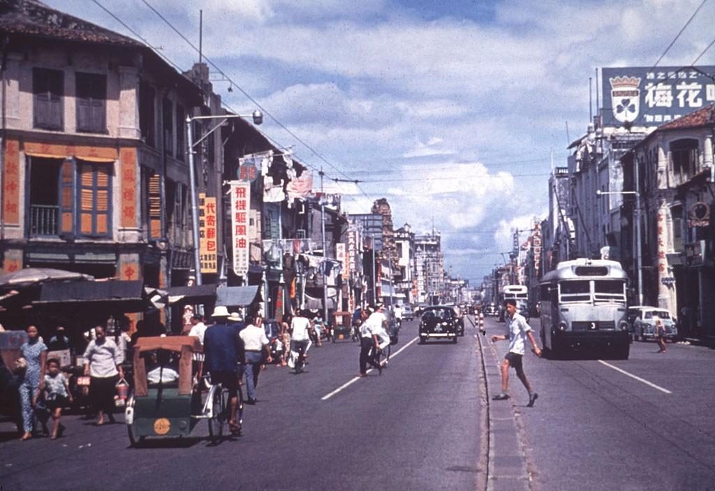 Chinatown in Singapore, 1965 | © Serendigity/Flickr
