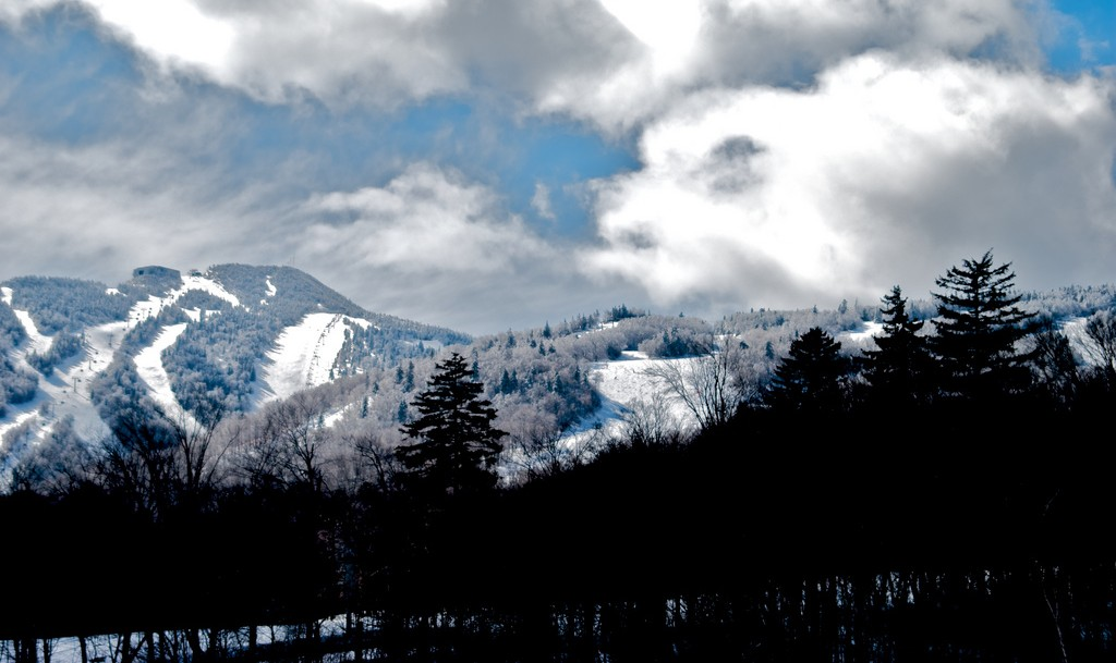 Today I Could Actually See the Slopes | © Richard Schatzberger