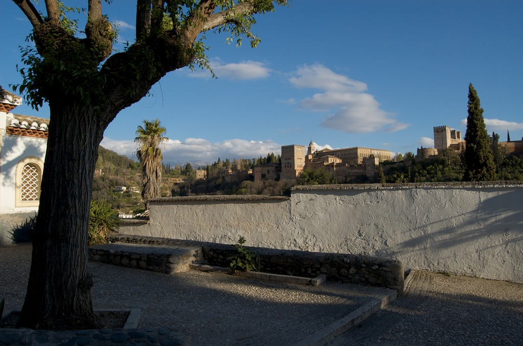 A hidden square in the old Arabic quarter of Granada; Greg Dobson, flickr