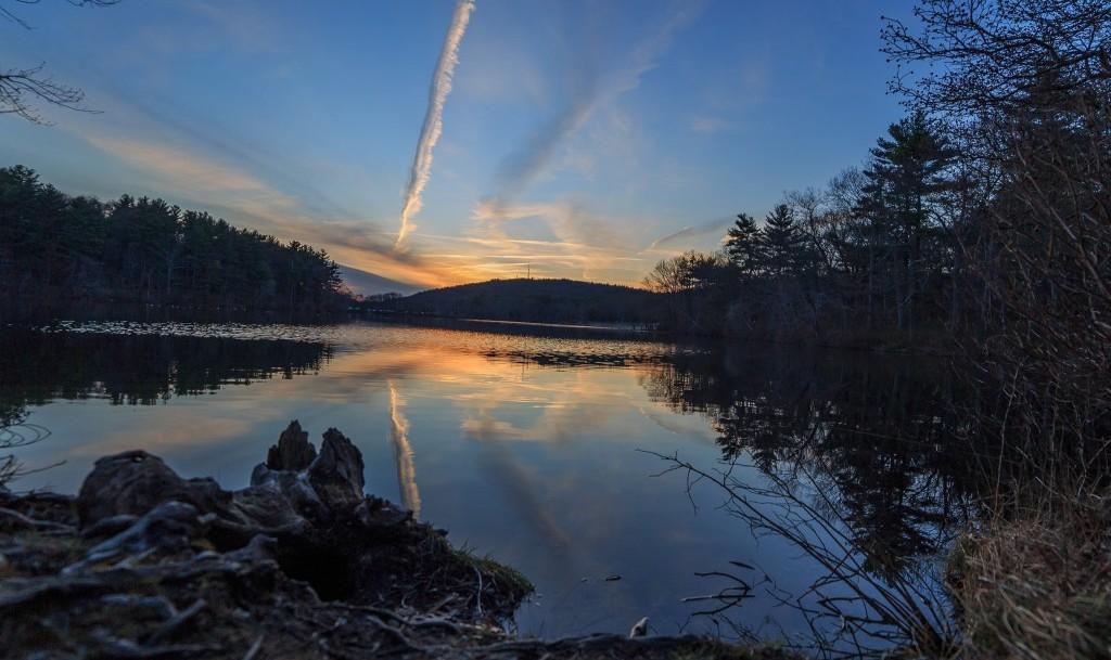 Houghton's Pond Sunset | © Eric Moreno / Flickr