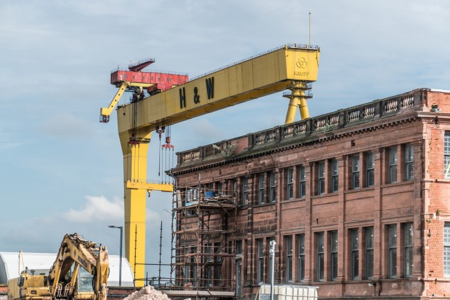 Harland & Wolff Dock, Titanic Quarer | © William Murphy/ Flickr