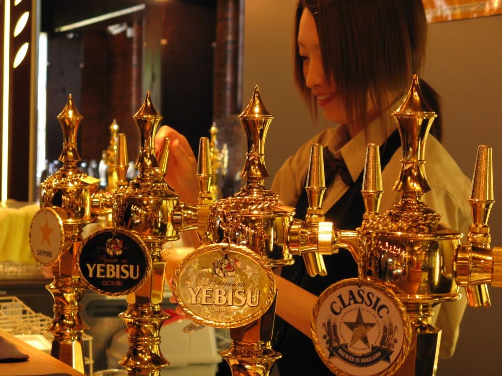 Sapporo beer museum tasting room | © Sarah Whitcher Kansa / Flickr