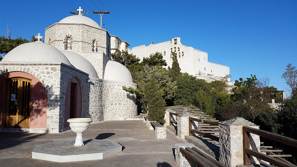 A Brief History Of Santorini S Monastery Of Profitis Ilias
