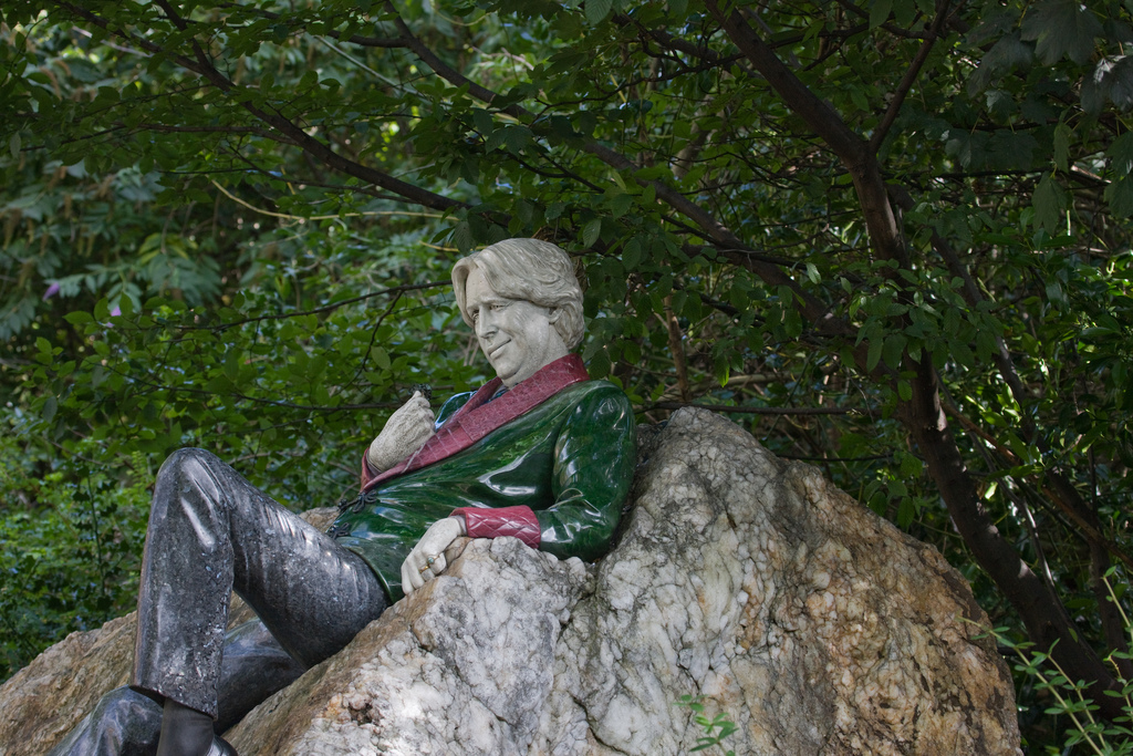 Oscar Wilde statue, Merrion Square | © William Murphy/Flickr