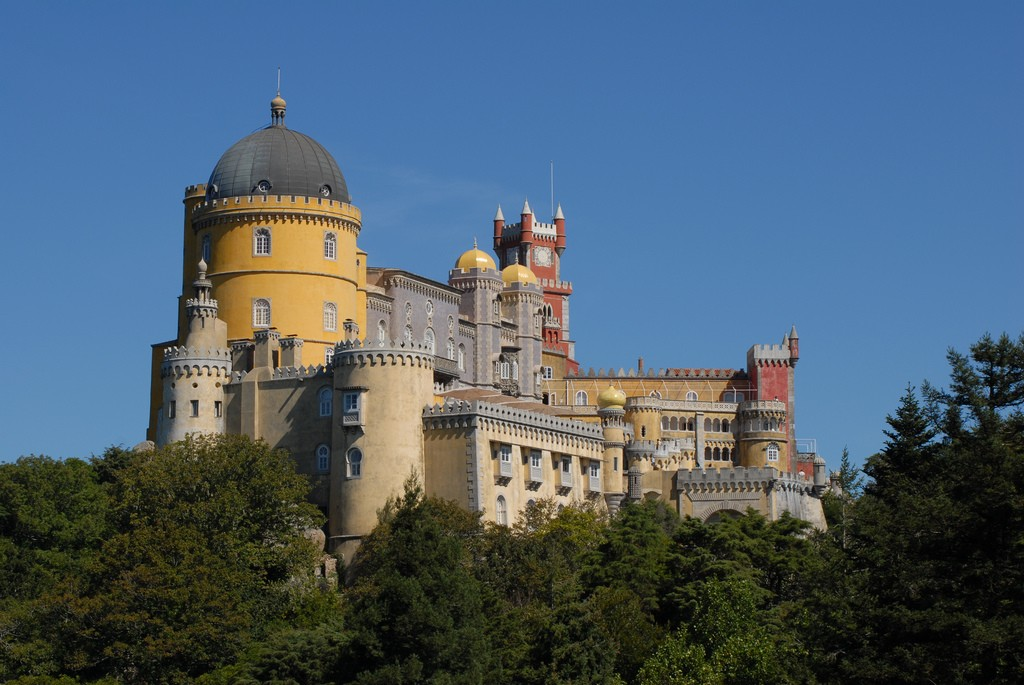 The Palácio Nacional da Pena in Sintra | © F Mira/Flickr