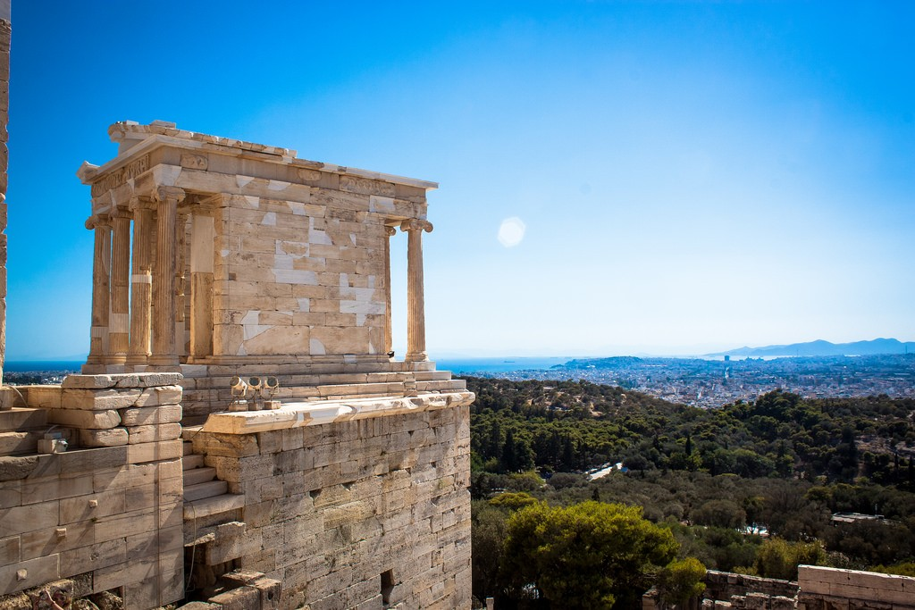 Temple of Athena Nike on the Acropolis, Athens | © Andy Hay/Flickr