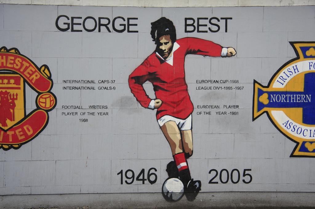 George Best Mural | © Sam Wennerland/ Flickr