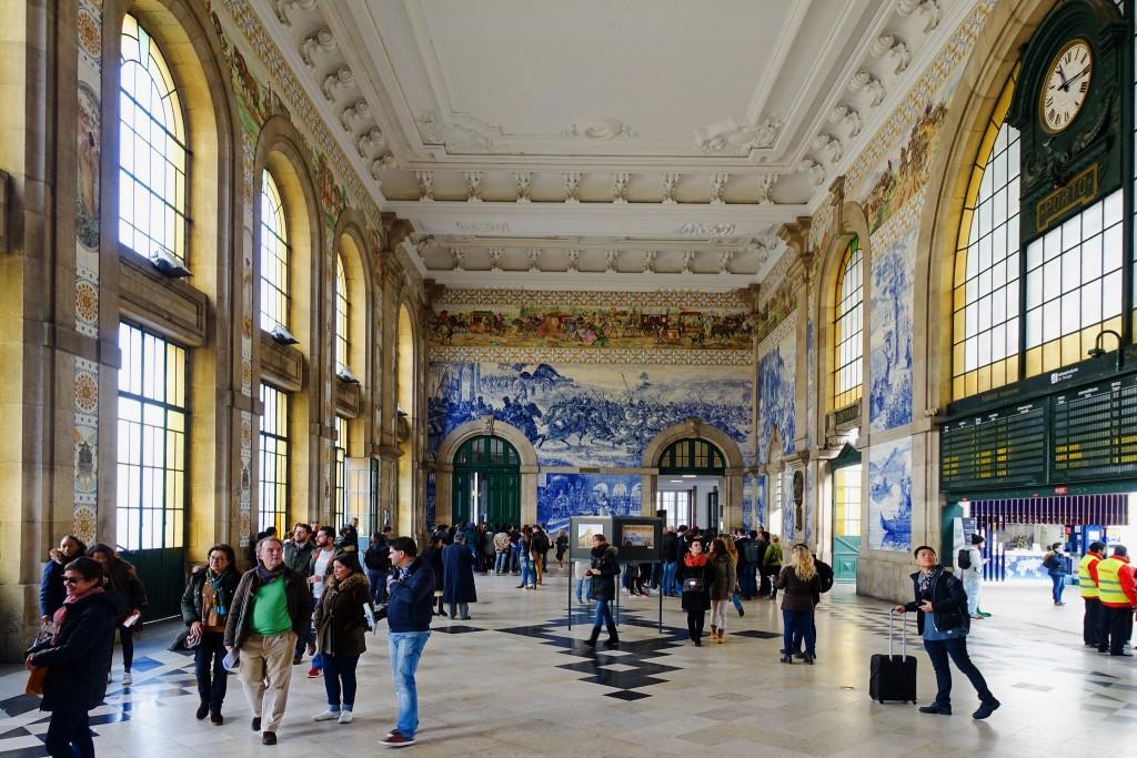 São Bento Station, Porto   © moz278/Flickr