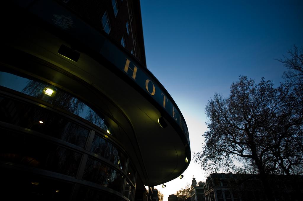 Tavistock hotel at dusk