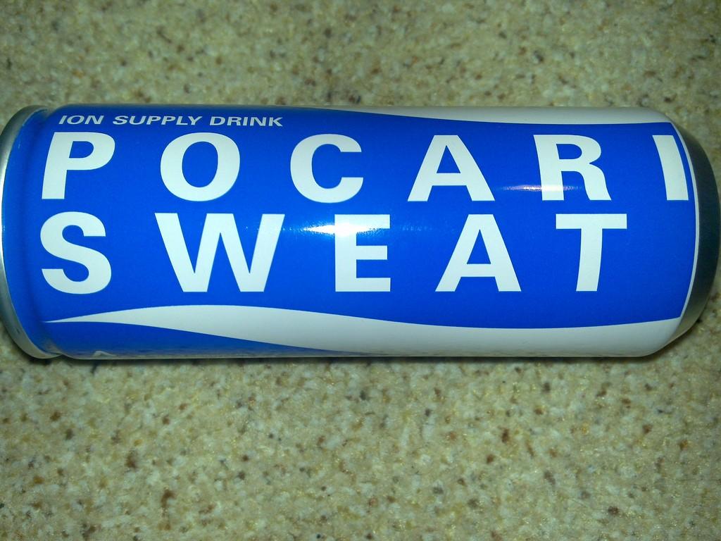 Pocari Sweat popular post-workout drink   © Mark Hillary / Flickr