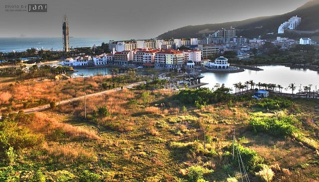 View over Dameisha beach (c) Jani Penttinen / Flickr