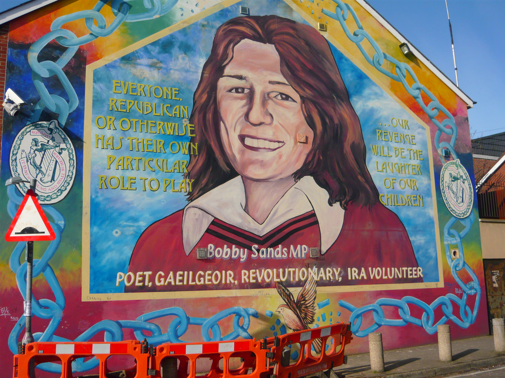 24 belfast murals you need to see for Bobby sands mural