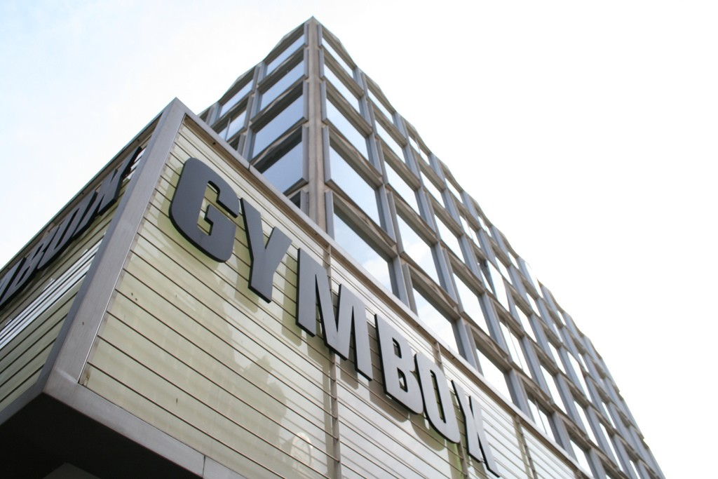 Gymbox sign outside