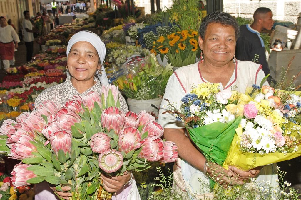 Adderley Street flower sellers © South African Tourism/Flickr