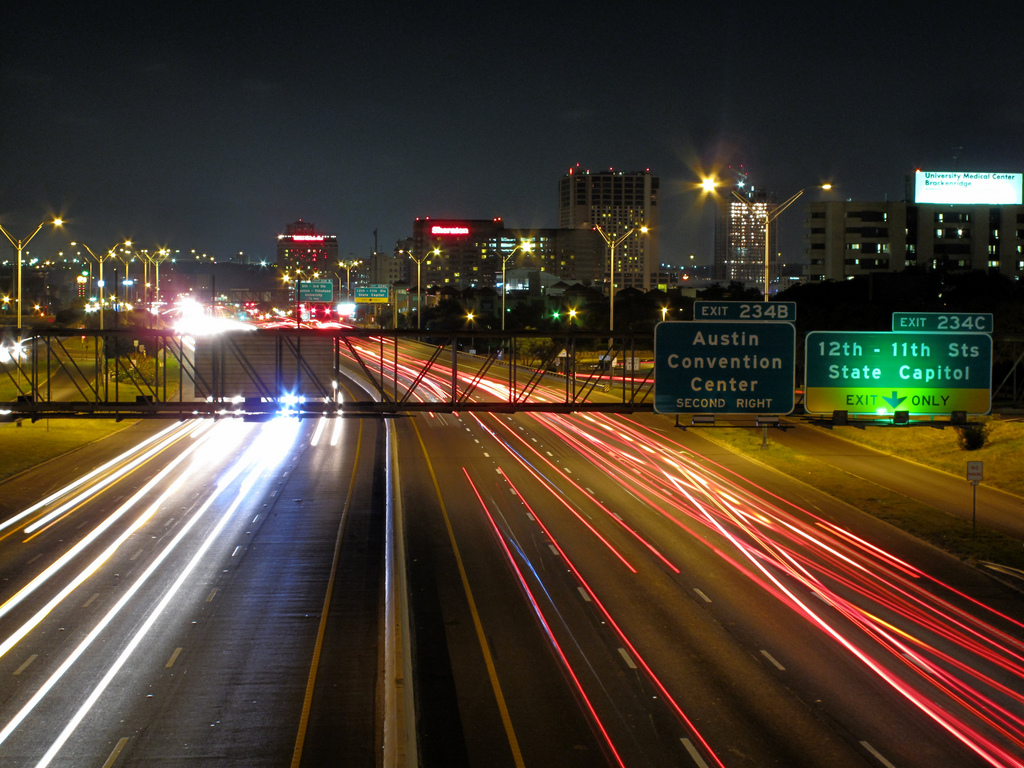Approaching Downtown Austin © Matthew Rutledge