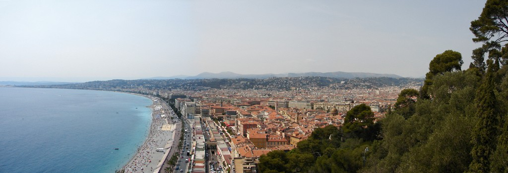 Castle Hill in Nice is a perfect place to stroll | © Marcel Oosterwijk/flickr