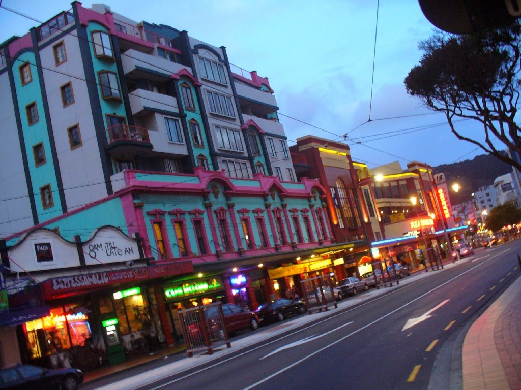 Courtenay Place at Dusk | © Velvet Android/Flickr
