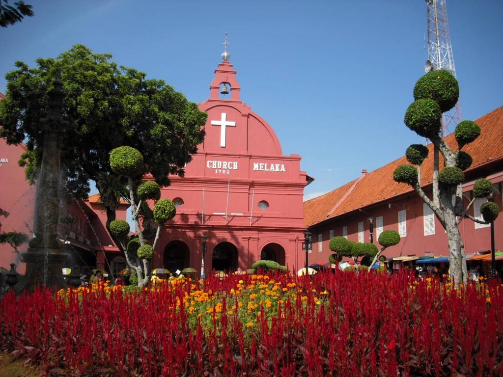 Malacca Christ Church   © Conny Sandland/Flickr