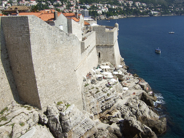 Buza Bar, dubrovnik city walls,