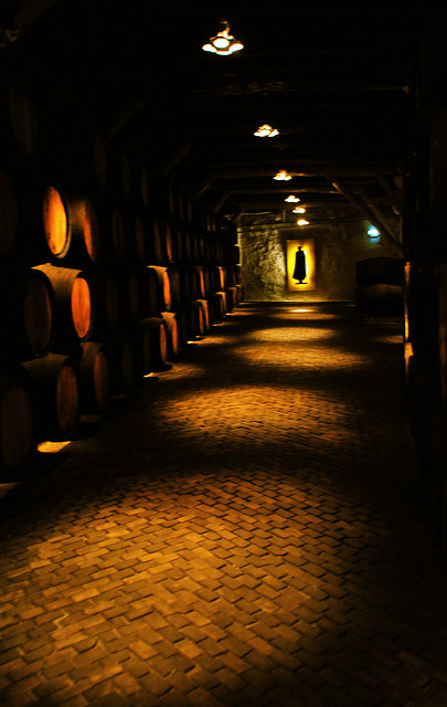 Sandeman Wine Cellar, Gaia, Portugal © Abhijeet Rane / Flickr