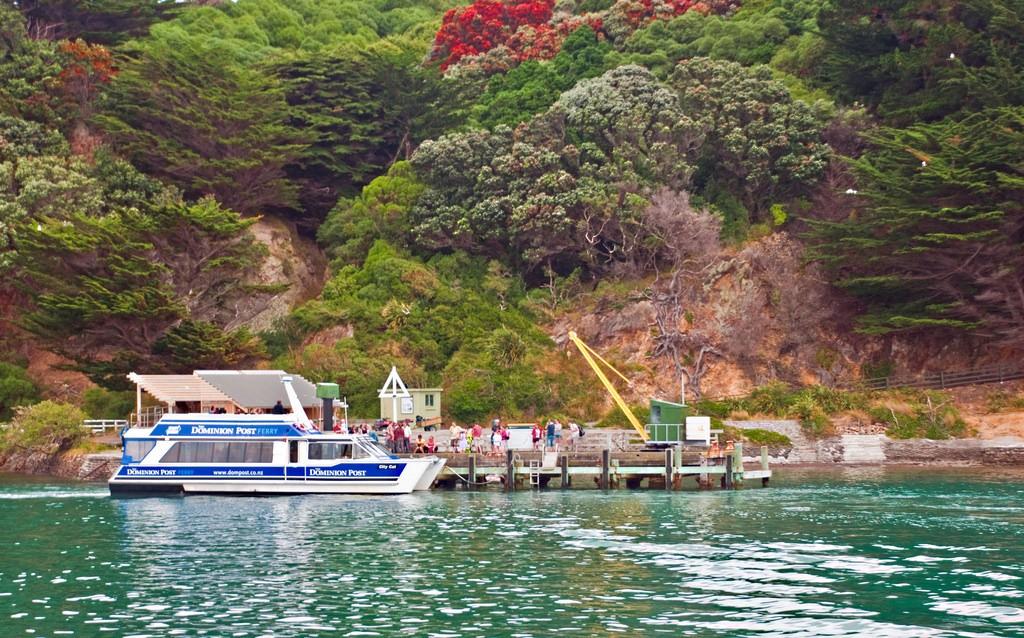 Ferry at Matiu/Somes Island wharf, Wellington | © Phillip Capper/Flickr