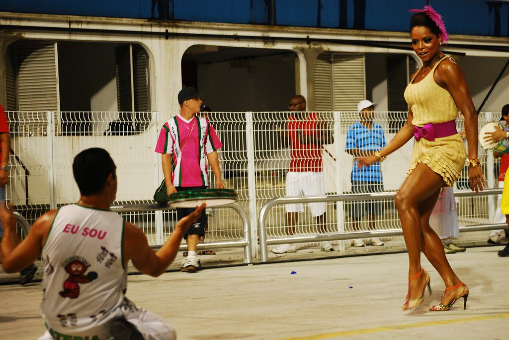 A serious samba move | © Beraldo Leal