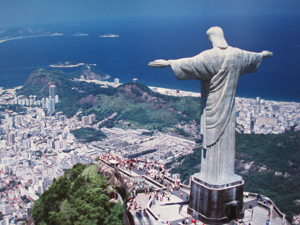 Christ The Redeemer : Rio s christ the redeemer is having a makeover in
