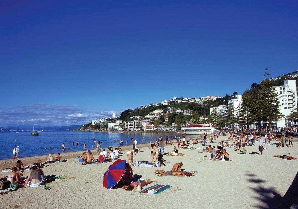 Oriental Bay Beach | © Wellington City Council/Flickr