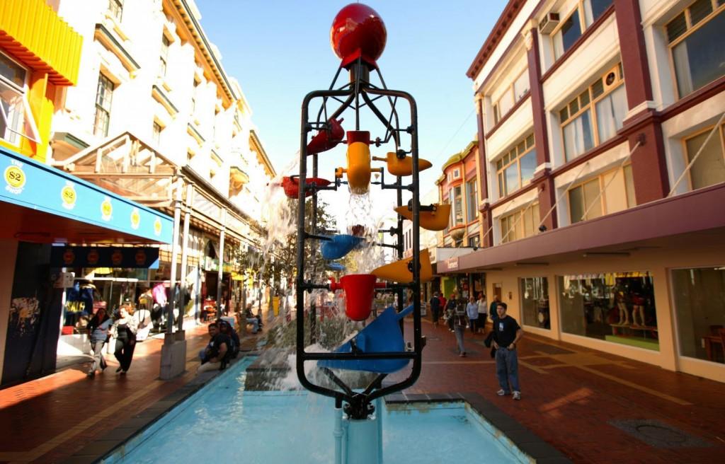 Bucket Fountain | © Wellington City Council/Flickr
