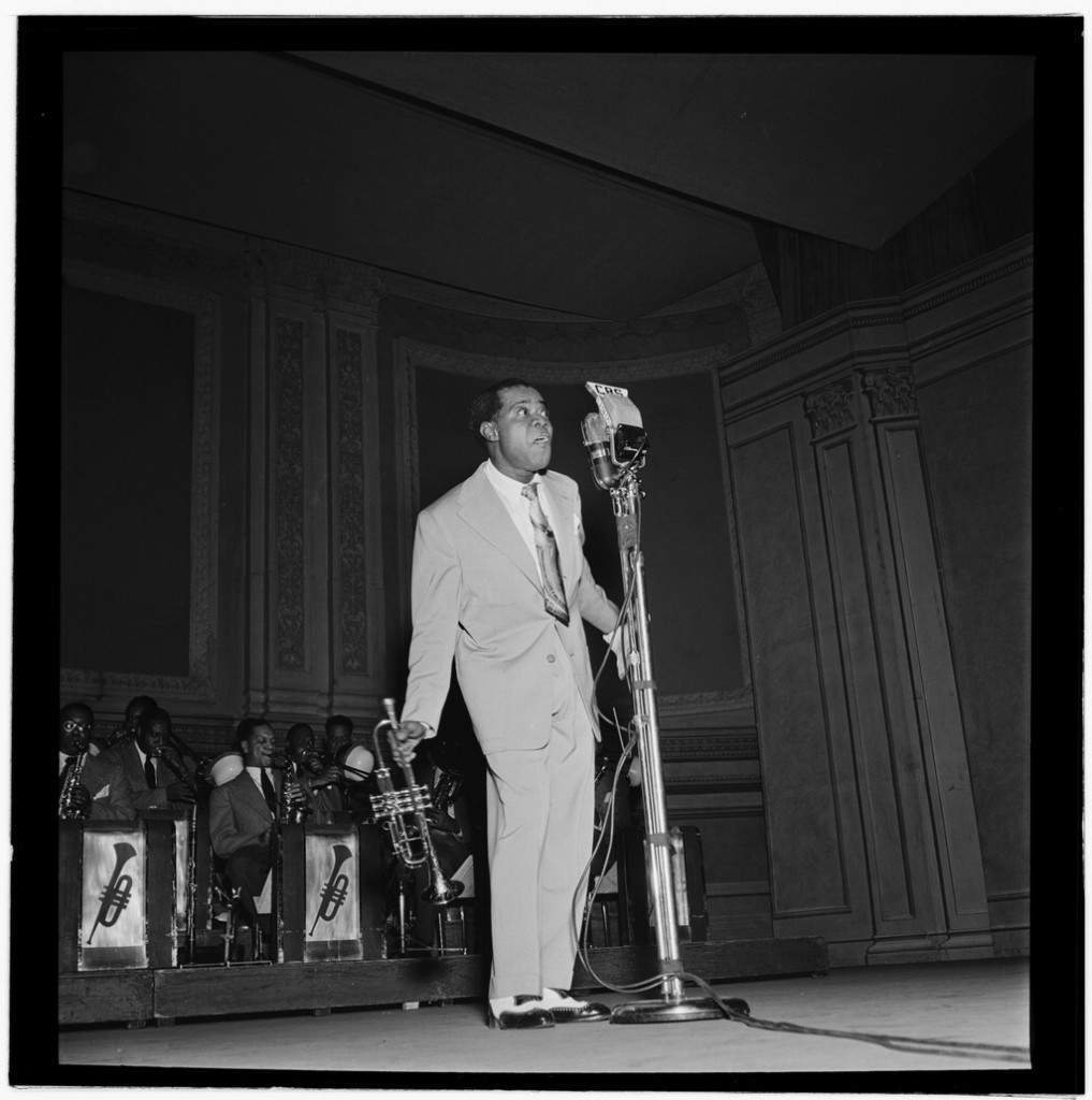 Portrait of Louis Armstrong, Carnegie Hall, New York, N.Y., ca. Feb. 1947 | © Gottlieb, William P/TheLibraryOfCongress