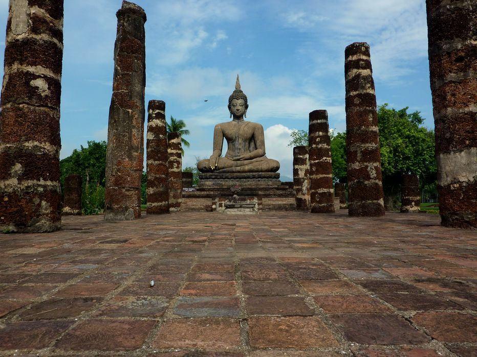 Parc historique de Sukhothai - Wat Mahathat