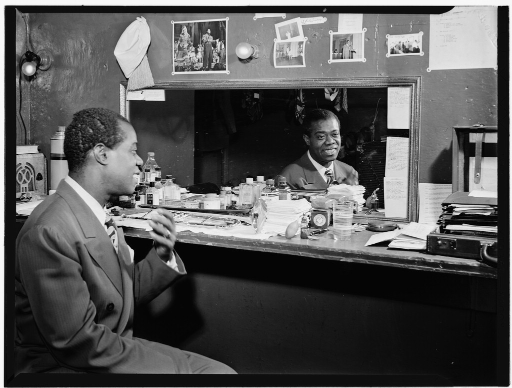 Portrait of Louis Armstrong | © Gottlieb, William P/National Library of Congress